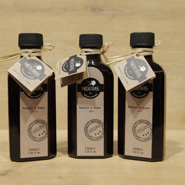 Medu'Ras Keratin & Argan Oil